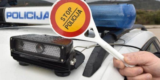 Policija provodi pojačane mjere s ciljem zaštite pješaka u prometu