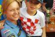 Pozitivno druženje policije i mališana na dočeku Vatrenog