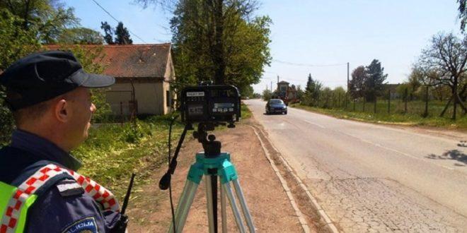 Policija: Građani, predložite lokacije za akciju nadzora brzine