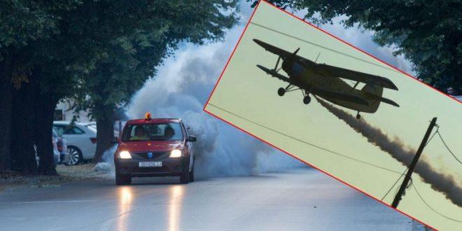 U srijedu počinje aviotretiranje komaraca na području Osječko-baranjske županije