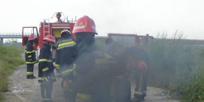 Požar na sušari u Satnici Đakovačkoj