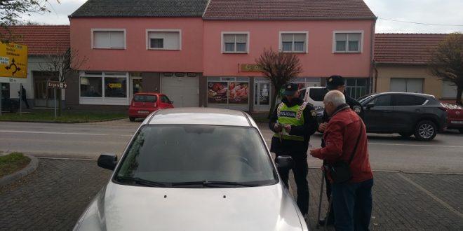 Policija i predsjednik Udruge invalida rada: Ne parkirajte na mjestima za invalide!!