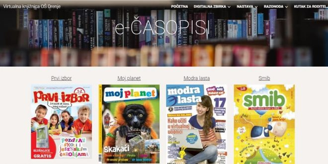 Virtualna knjižnica Osnovne škole Drenje