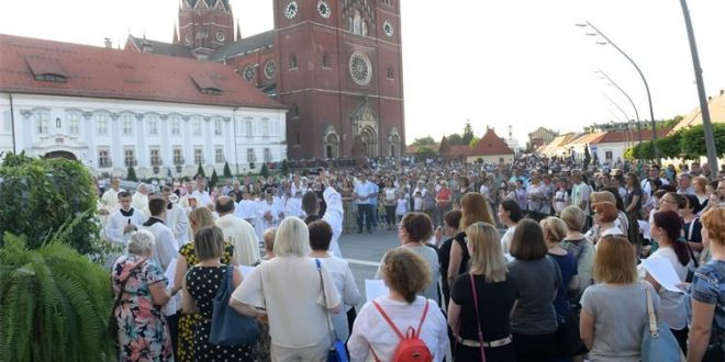 Tijelovska procesija na Strossmayerovom trgu