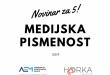 Projekt Novinar za 5 nagrađen od strane Ministarstva znanosti i obrazovanja