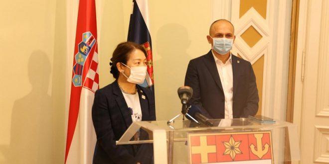 Veleposlanica Japana u nastupnom posjetu OBŽ