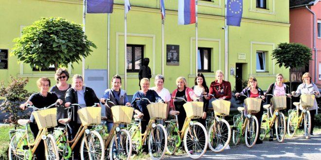 """Bicikli za """"Snažne žene"""" u Općini Punitovci"""