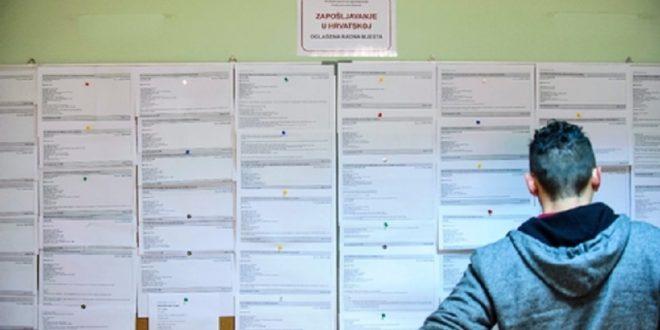 Dvije i pol tisuće osoba više  na Zavodu za zapošljavanje u Osječko-baranjskoj županiji u odnosu na isto razdoblje prošle godine