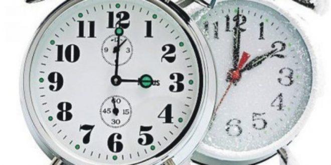 Pomicanje sata na zimsko računanje vremena