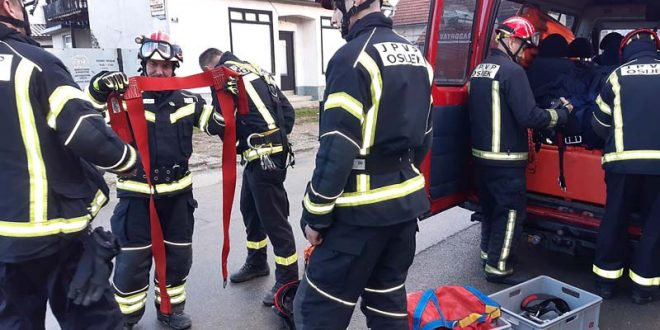 Iz Slavonije na područje Siska, Petrinje, Gline otišlo 128 vatrogasaca