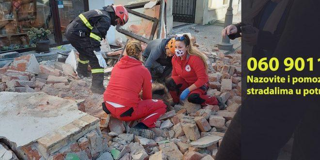 Prikupljeno 25 milijuna kuna pomoći stradalima u potresu