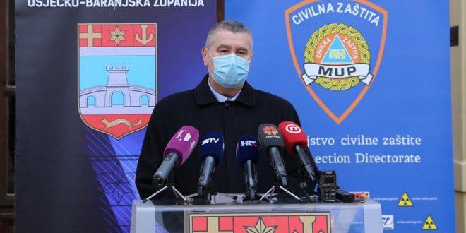 U OBŽ na koronavirus novopozitivno 242 osobe, 10 osoba preminulo