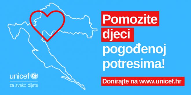UNICEF dostavio 13,5 tona zaštitnih cerada