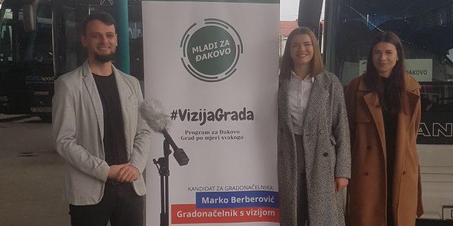 """,,Mladi za Đakovo"""" predstavili kandidaturu za lokalne izbore"""