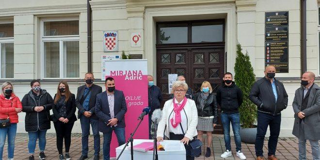 Mirjana Adrić predstavila zamjenika volontera i najavila besplatne vrtiće