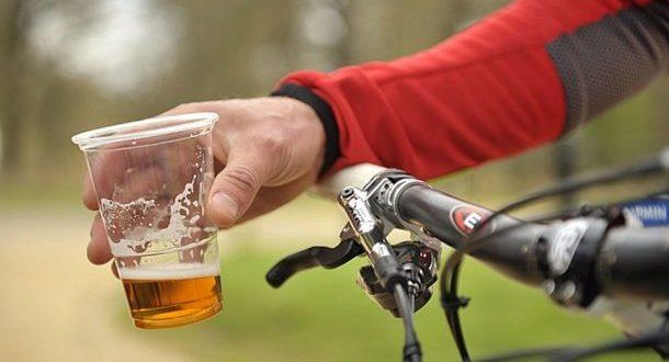 Alkoholiziranom biciklistu kazna 500 kuna