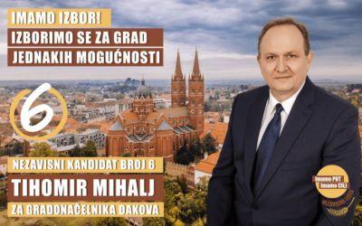 Vijećnik Tihomir Mihalj podržao HDZ!