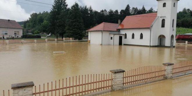 Popravlja se situacija u poplavljenom našičkom području