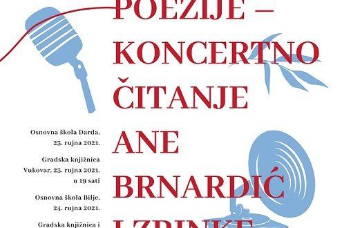 """Poetsko-glazbena večer: """"Ozvučenje poezije – koncertno čitanje Ane Brnardić i Zrinke Posavec"""""""