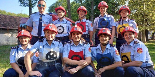 Đakovčanke na 8. državnom natjecanju vatrogasaca