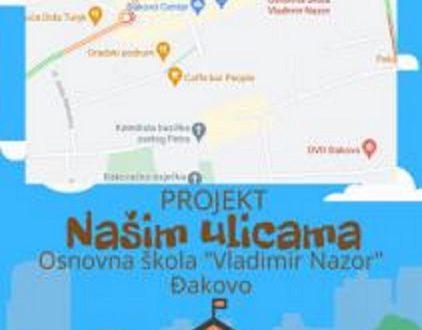 """""""Našim ulicama"""": Novi eTwinning projekt OŠ V. Nazora"""